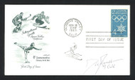 "Dan Jansen Autographed First Day Cover 1994 Olympics ""94 Gold"" SKU #159562"