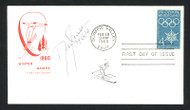 "Dan Jansen Autographed First Day Cover 1994 Olympics ""94 Gold"" SKU #159565"
