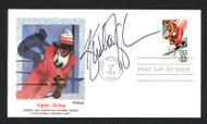Kristina Koznick Autographed First Day Cover Olympic Skier SKU #159583