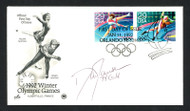 "Dan Jansen Autographed First Day Cover 1994 Olympics ""94 Gold"" SKU #159589"