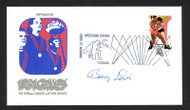 Barry Davis Autographed First Day Cover 1984 Olympics Wrestler SKU #159593