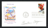 Christin Cooper Autographed First Day Cover Olympic Skier SKU #159611