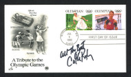 """Cathy Rigby Autographed First Day Cover Olympic Gymnast """"All The Best"""" SKU #159629"""