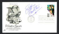 Scott Hamilton Autographed First Day Cover Olympic Figure Skater SKU #159638