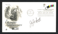 Jojo Starbuck Autographed First Day Cover Olympic Figure Skater SKU #159641