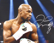 Floyd Mayweather Jr. Autographed 16x20 Photo Beckett BAS Stock #159714