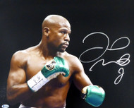 Floyd Mayweather Jr. Autographed 16x20 Photo Beckett BAS Stock #159715