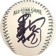 Ichiro Suzuki Autographed Official 2001 All Star Baseball Seattle Mariners Signed In Kanji #/51 IS Holo Stock #159817