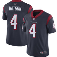 Deshaun Watson Unsigned Houston Texans Blue / White Twill Nike Size L SKU #159868