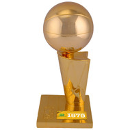 "Seattle SuperSonics 1979 NBA Finals Champions 12"" Replica Larry O'Brien Trophy with Sublimated Plate Stock #159862"