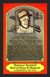 Eddie Mathews Autographed 1978 Dexter Press HOF Plaque Postcard Milwaukee Braves Lot of 6 SKU #160999