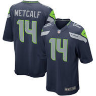 D.K. Metcalf Unsigned Nike Seattle Seahawks Jersey For Upcoming Signing on February 29th