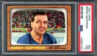 "Bernie ""Boom Boom"" Geoffrion 1966-67 Topps Card #85 New York Rangers Card Grade NM 7 PSA #44863163"