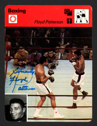 "Floyd Patterson Autographed 1978 Sportscaster Card ""Sincerely"" SKU #163641"