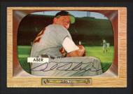Al Aber Autographed 1955 Bowman Card #24 Detroit Tigers SKU #164177