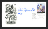 Bob Aspromonte Autographed First Day Cover Washington Senators SKU #164960
