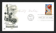 Billy Gabor Autographed First Day Cover Syracuse Nationals SKU #165017