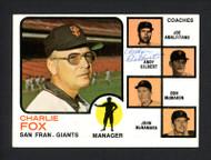 Andy Gilbert Autographed 1973 Topps Card #252 San Francisco Giants SKU #165320