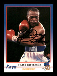 Tracy Patterson Autographed 1991 Kayo Card #142 SKU #167239