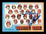 Nyls Nyman & Rich Hinton Autographed 1975 Topps Card #276 Chicago White Sox SKU #167705