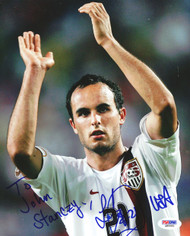 Landon Donovan Autographed 8x10 Photo To John PSA/DNA #Q89581
