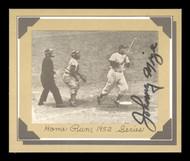 Johnny Mize Autographed 1977 Douglas Card Home Run, 1952 Series SKU #171195