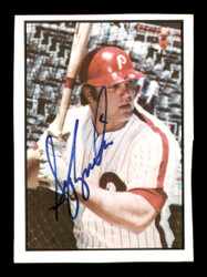 Greg Luzinski Autographed 1978 SSPC Card #31 Philadelphia Phillies SKU #172253