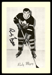 Rudy Migay Autographed 1944-63 Beehive Group 2 4.5x6.5 Photo Toronto Maple Leafs SKU #176677