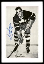 "Bob ""Bobby"" Baun Autographed 1944-63 Beehive Group 2 4.5x6.5 Photo Toronto Maple Leafs SKU #176681"