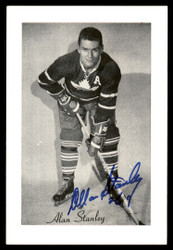 Allan Stanley Autographed 1944-63 Beehive Group 2 4.5x6.5 Photo Toronto Maple Leafs SKU #176708