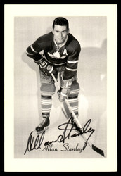 Allan Stanley Autographed 1944-63 Beehive Group 2 4.5x6.5 Photo Toronto Maple Leafs SKU #176709