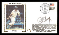 """Rich """"Goose"""" Gossage Autographed First Day Cover San Diego Padres 1984 World Series (Smear) SKU #177068"""