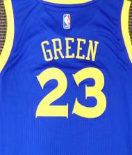 Draymond Green Unsigned Golden State Warriors Blue Adidas Swingman Jersey Size XL Stock #177424