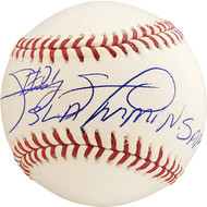 "Sammy Sosa Autographed Official MLB Baseball Chicago Cubs ""Slammin Sammy"" Beckett BAS Stock #177578"