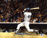 Reggie Jackson Autographed 8x10 Photo New York Yankees Beckett BAS Stock #177595