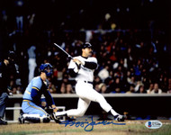 Reggie Jackson Autographed 8x10 Photo New York Yankees 1981 ALDS Game 5 Home Run Beckett BAS Stock #177600