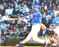 Sammy Sosa Autographed 11x14 Photo Chicago Cubs Beckett BAS Stock #177684