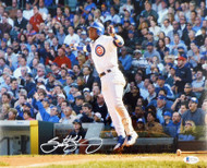 Sammy Sosa Autographed 11x14 Photo Chicago Cubs Beckett BAS Stock #177685