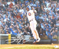 Sammy Sosa Autographed 11x14 Photo Chicago Cubs Beckett BAS Stock #177686