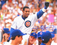 Sammy Sosa Autographed 11x14 Photo Chicago Cubs Beckett BAS Stock #177688