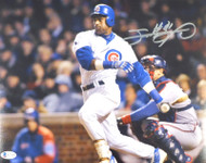 Sammy Sosa Autographed 11x14 Photo Chicago Cubs Beckett BAS Stock #177689