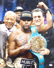 Floyd Mayweather Jr. Autographed 16x20 Photo JSA Stock #178319