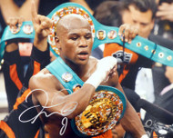 Floyd Mayweather Jr. Autographed 16x20 Photo JSA Stock #178321