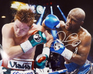 Floyd Mayweather Jr. Autographed 16x20 Photo JSA Stock #178323