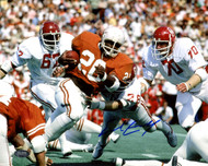 Earl Campbell Autographed 8x10 Photo Texas Longhorns MCS Holo Stock #178351