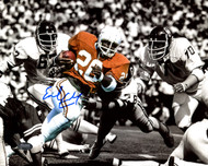 Earl Campbell Autographed 8x10 Photo Texas Longhorns Spotlight MCS Holo Stock #178352