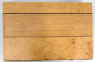 1995-1998 Chicago Bulls Game Used United Center 4x6 Blonde Hardwood Floor Piece Michael Jordan Stock #179035