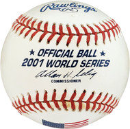 2001 World Series Opening 1st Pitch Ceremonial Baseball SKU #179462