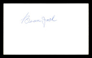 Beau Jack Autographed 3x5 Index Card Lightweight Champ SKU #179727