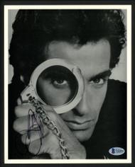 David Copperfield Autographed 8x10 Photo Magician Beckett BAS #V62594